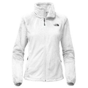 The north face medium zip bright white sweater new